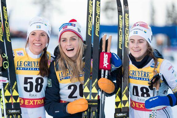 Dropper Tour de Ski: To svenske stjerner gjør som Johaug