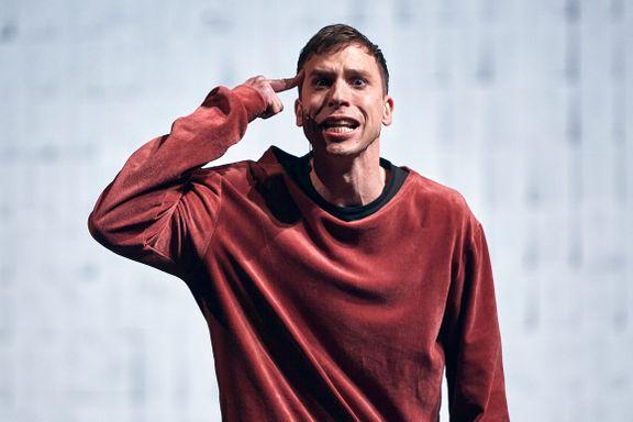 Herbert Nordrum er sensasjonelt god som Hamlet