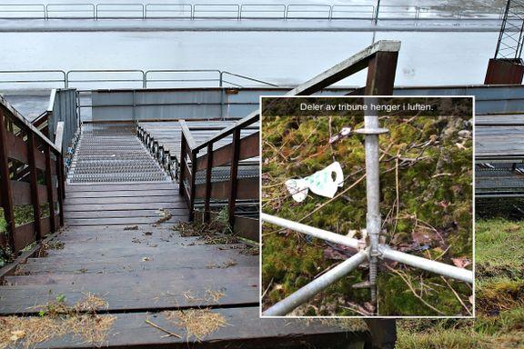 Nå er også tribunen på Slåtthaug stengt ned: – Denne har gått under radaren