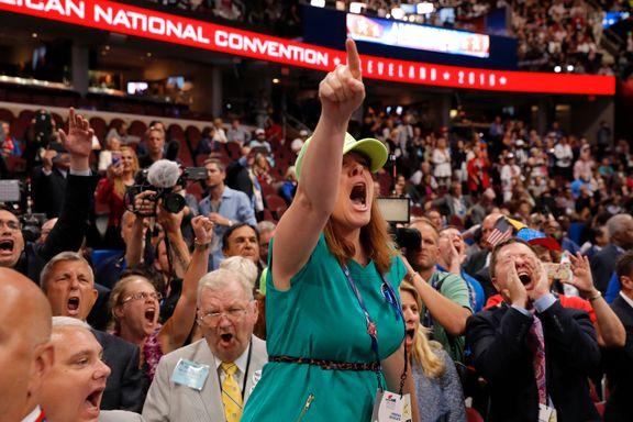 Trump-opprør kneblet på republikanernes landsmøte i Cleveland