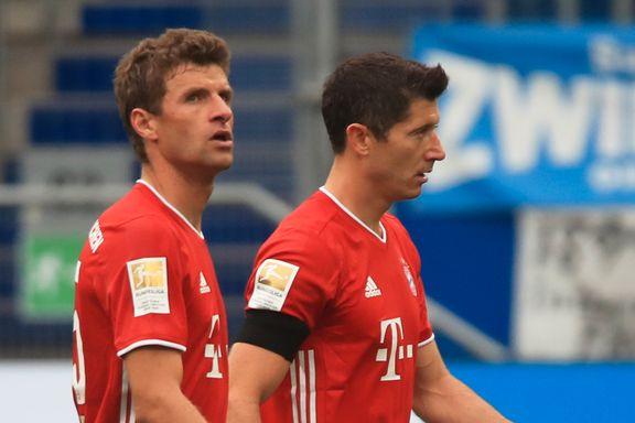 Bayern fikk juling da de først tapte