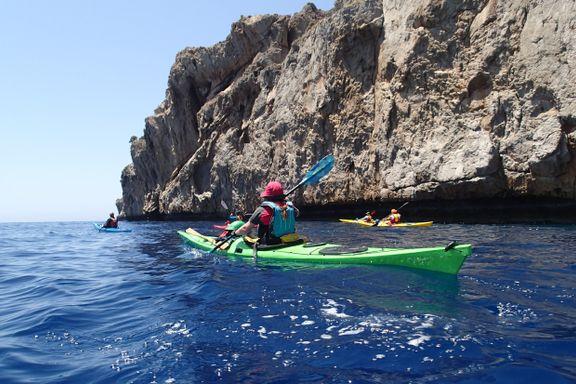 Kreta er et av nordmenns favorittreisemål - vi opplevde øya fra kajakken