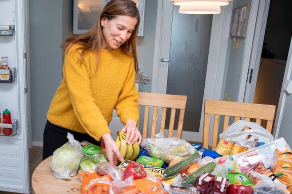 Anne Berit (33) og familien sparer 4000 kroner i måneden på mat. Her er hennes tips.