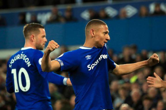 Everton snuser på en plass i Europa etter ny hjemmeseier