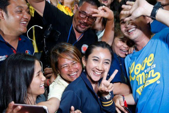 Gratulasjoner strømmer inn etter vellykket redningsaksjon i Thailand