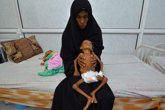 «De som overlever matkrisen i Jemen, vil være en generasjon som er preget og skadet»