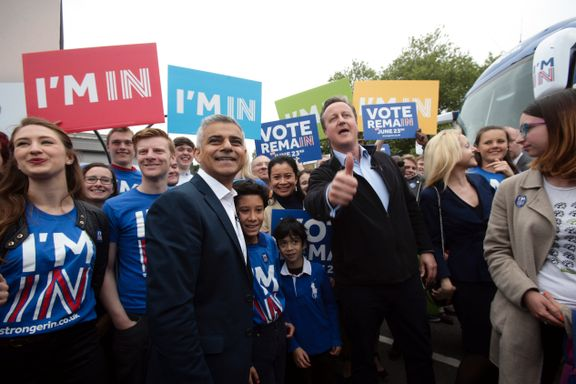 Aftenposten mener: Britene bør forbli i EU