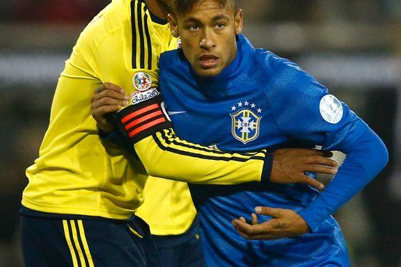 Sist gang tapte de 1-7. Nå mister Brasil Neymar igjen.