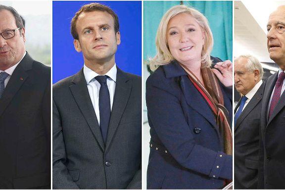 Kampen om å bli fransk president er i gang. Dette er favorittene til den mektige jobben.