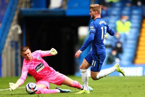 West Brom med sjokkseier – ydmyket Chelsea etter Thiago Silvas røde kort