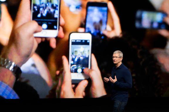 Apple-resultatet redusert med 19 prosent