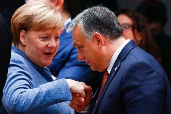 Milliardene renner inn til Polen og Ungarn. Takken er at de holder EU som gissel og ydmyker Merkel.