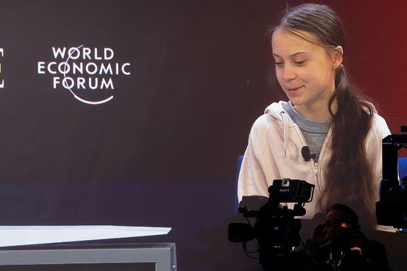 Thunberg i Davos: – Mye har skjedd som ingen kunne forutse