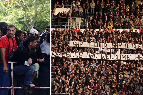 Inviterer 1200 flyktninger til Champions League-kamp