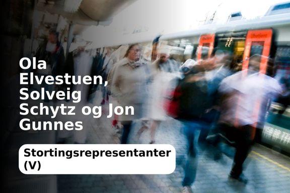 Ny jernbanetunnel gjennom Oslo må bygges nå