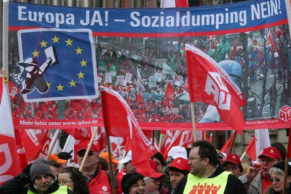 EU vil stramme inn reglene for arbeidsinnvandrere. «Dette er sjelden vare,» sier LO.