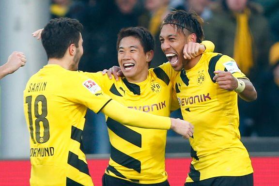 Dortmund reiste seg mot Dæhlis Freiburg