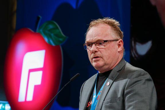 Sandberg sier nei til gjenvalg til Stortinget