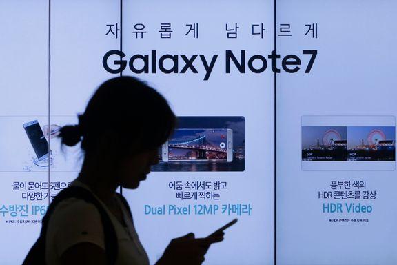 Samsung bekrefter batteri og produksjon som årsak
