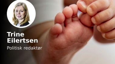 Babyer må få slippe å fødes med abstinenser, påført dem av voksne.