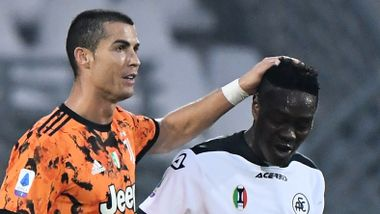 Ronaldos rørende gest til taperen