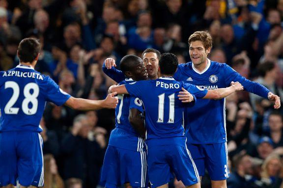 Hazard skjøt Chelsea nærmere tittelen