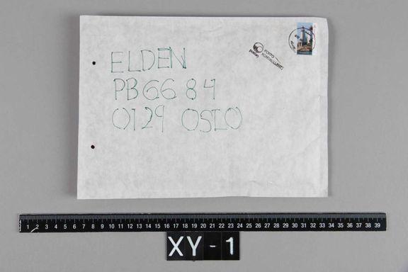 Fem mystiske forsendelser til advokat Elden