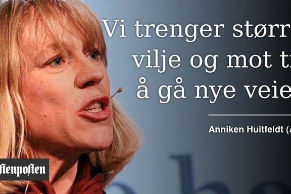 Huitfeldt om Norges utenrikspolitikk: Det er noe som mangler
