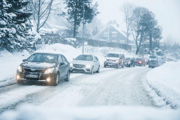 Farevarsel på Østlandet: – Drøy langturen til i morgen!
