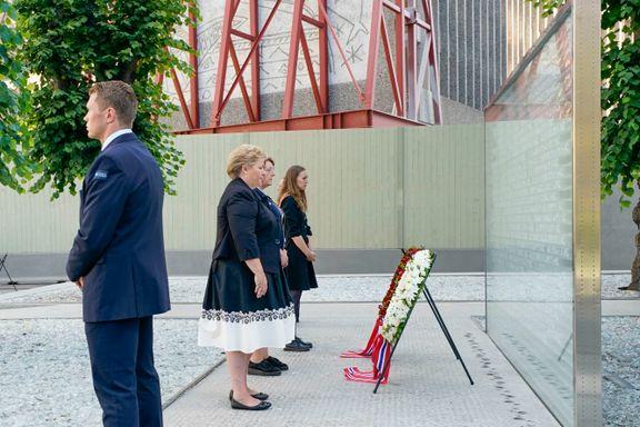 Erna Solberg: – Vi vet at hatytringer og fremmedfrykt lever i det norske samfunnet