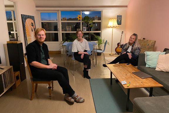 Deltar i sosialt eksperiment og betaler 3000 kr for rom i toppleiligheter på Grünerløkka