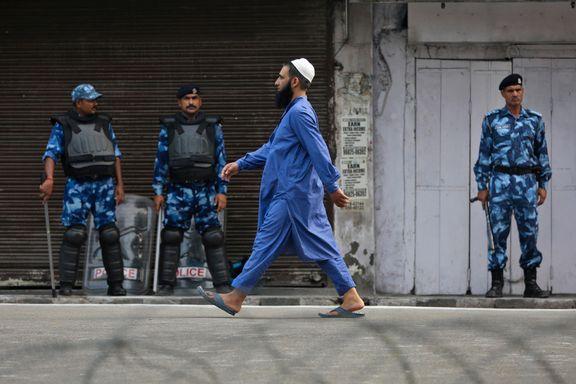Streng sikkerhet rundt id-feiring i Kashmir