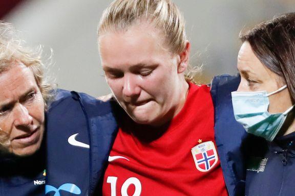 Skår i gleden for Norge: Maanum skadet