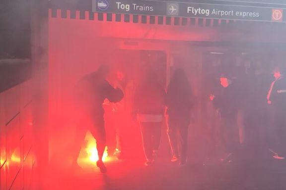 Politiet grep ikke inn da Brann-supportere tente opp bluss