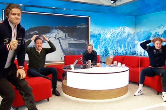 Ordene som falt i NRKs studio etter gullbragden, forteller mye