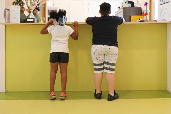 Elevene måles og veies. Slankekur er på timeplanen. Hvert femte barn slet med overvekt. Da måtte skolen ta grep.