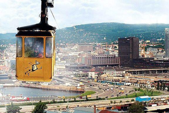 Høyre og Frp vil ikke gi opp drømmen om gondolbane i Oslo