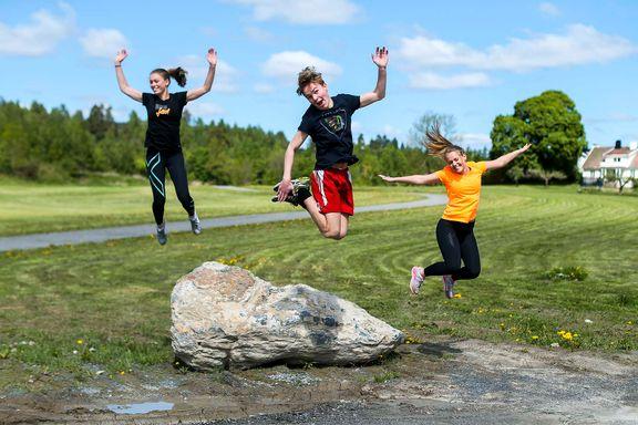 9 av 10 er positive til en times fysisk aktivitet hver skoledag