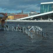 Varsler ny runde med høy vannstand langs kysten av Østlandet og Agder