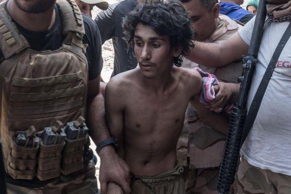 Irakske soldater sier de likviderer tilfangetatte IS-medlemmer