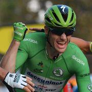 Sykkelstjernen ble fratatt seieren i storritt