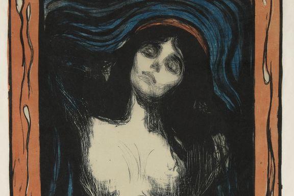 Ny rekord: Munch-grafikk solgt for 18,5 millioner kroner