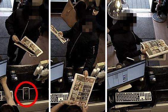 Brukte aviser for å stjele mobilen fra 13 personer