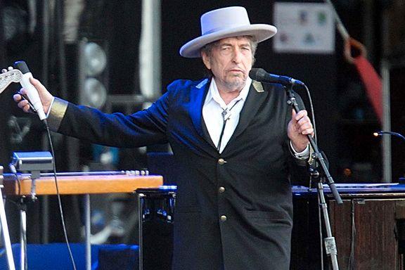 SVT: Dylan har mottatt nobelprisen