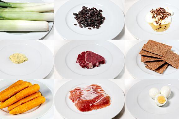 Sjekk hvor mye du kan spise for å få i deg 200 kalorier
