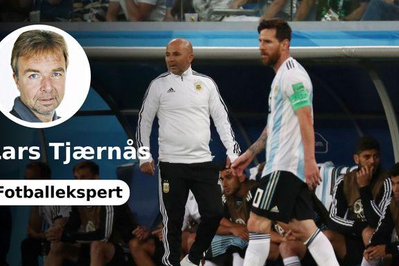 «Hvis Messi ikke får lov å være Messi, kan han like gjerne se VM foran fjernsyn»
