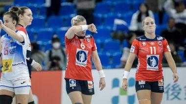 To spillere utmerket seg da Norge møtte veggen