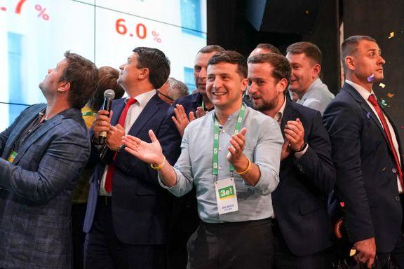 Aftenposten mener: Valget gir grunn til håp i Ukraina