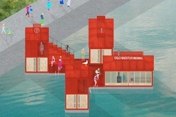 Badstubonanza i Oslo - i mai kommer et nytt anlegg