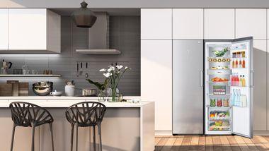 Slik fyller du kjøleskapet riktig og holder råvarene friskere